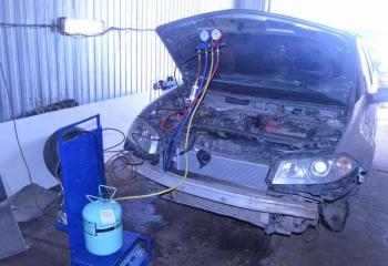 Заправка кондиционера после ремонта